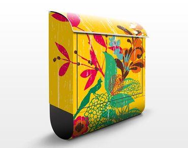 Cassetta postale Grunge Garden 39x46x13cm