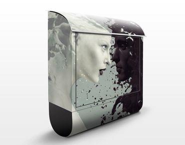 Cassetta postale Milk & Coffee 39x46x13cm