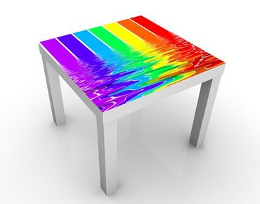 Tavolino design Rainbow Coloured