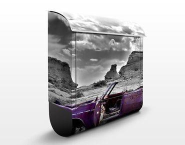 Cassetta postale Pink Cadillac 39x46x13cm