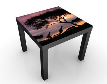 Tavolino design Safari in Africa