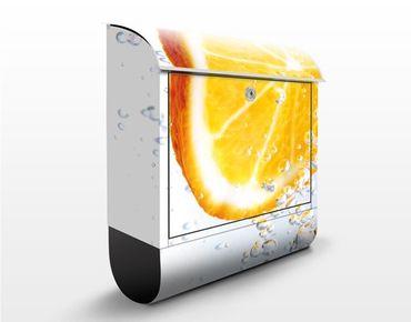 Cassetta postale Splash Orange 39x46x13cm