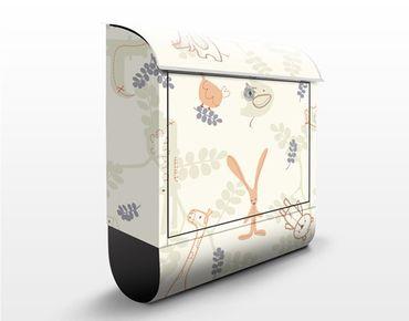 Cassetta postale Pastel Plushies 39x46x13cm