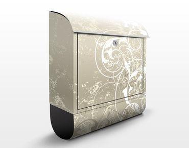 Cassetta postale Perlmutt Ornament Design 39x46x13cm