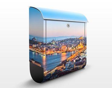 Cassetta postale Istanbul 39x46x13cm