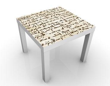 Tavolino design Da Vinci Manuskript