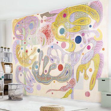 Tende scorrevoli set - Wassily Kandinsky - Capricious Forms