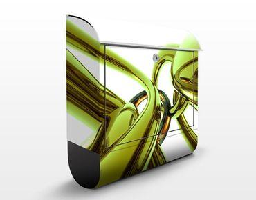 Cassetta postale Stunning Green Style 39x46x13cm