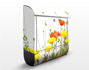 Cassetta postale Wild Flowers 39x46x13cm