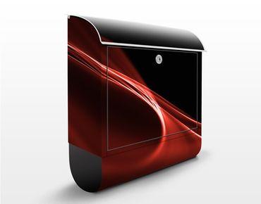 Cassetta postale Red Wave 39x46x13cm