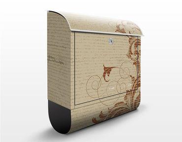 Cassetta postale Leaves Cirrus 39x46x13cm