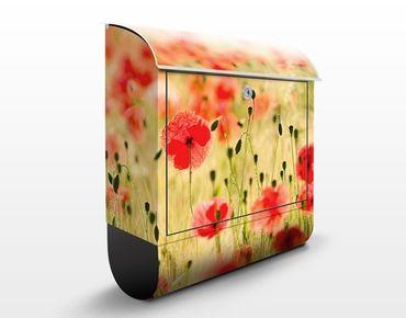 Cassetta postale Summer Poppies 39x46x13cm