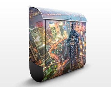 Cassetta postale Shanghai 39x46x13cm