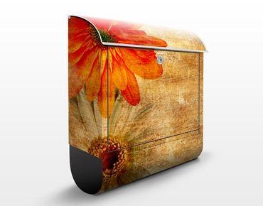 Cassetta postale Vintage Flowermix 39x46x13cm