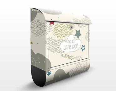 Cassetta postale personalizzata Sky Crocodile 39x46x13cm