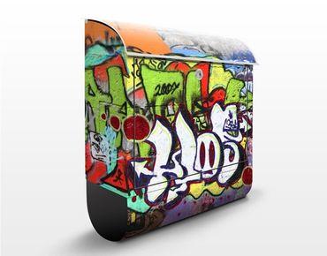 Cassetta postale Graffiti 39x46x13cm