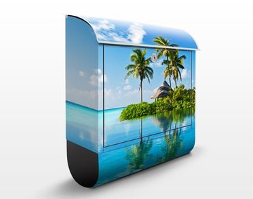 Cassetta postale Tropical Paradise 39x46x13cm