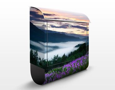 Cassetta postale Heavenly Valley In Norway 39x46x13cm