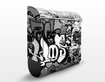 Cassetta postale Graffiti Art 39x46x13cm