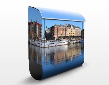Cassetta postale Stockholm 39x46x13cm