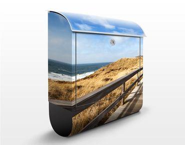 Cassetta postale North Sea Promenade 39x46x13cm