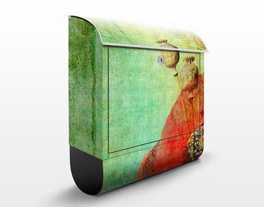 Cassetta postale Poppy Stalks 39x46x13cm