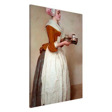 Lavagna magnetica - Jean Etienne Liotard - La ragazza del cioccolato - Formato verticale 2:3
