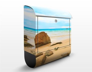 Cassetta postale The Beach 39x46x13cm