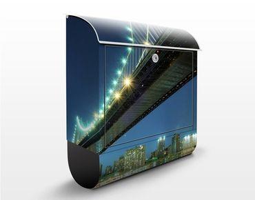 Cassetta postale Abstract Manhattan Bridge 39x46x13cm