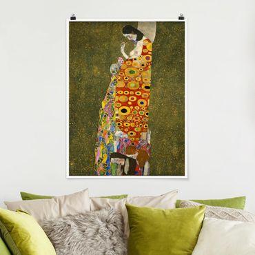 Poster - Gustav Klimt - Speranza II - Verticale 4:3
