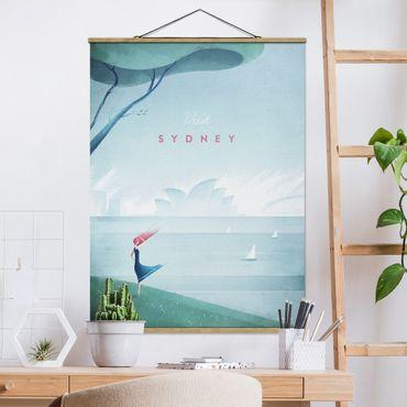Foto su tessuto da parete con bastone - Poster Viaggi - Sidney - Verticale 4:3