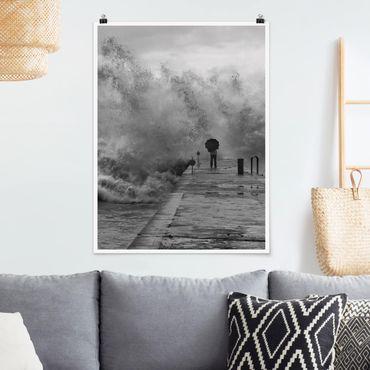 Poster - Raging Sea - Verticale 4:3