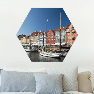 Esagono in Alu-dibond - Porto di Copenhagen