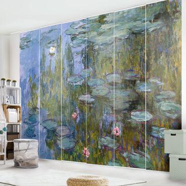 Tende scorrevoli set - Claude Monet - Ninfee (Nympheas) - 6 Pannelli