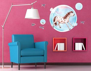 Adesivo murale Soap Bubble Pony