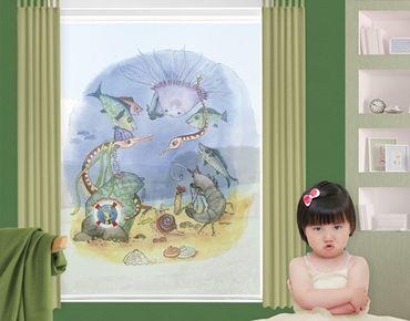 Decorazione per finestre The Small Pipe Fish© Circus