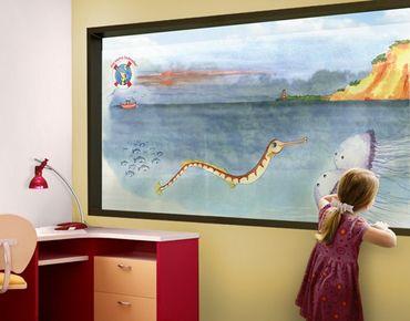 Decorazione per finestre The Small Pipe Fish© Steep Coast