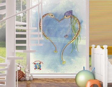 Decorazione per finestre The Small Pipe Fish© Heart