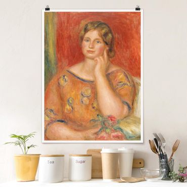 Poster - Auguste Renoir - signora Osthaus - Verticale 4:3