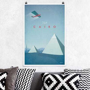 Poster - Poster viaggio - Il Cairo - Verticale 3:2