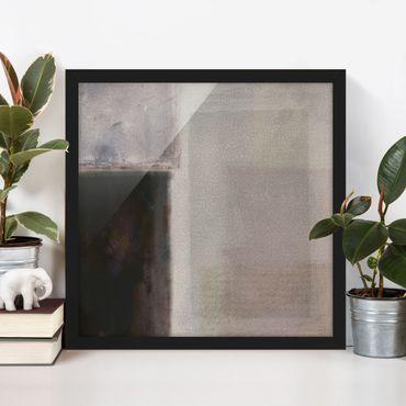 Poster con cornice - Muted Shades II - Quadrato 1:1