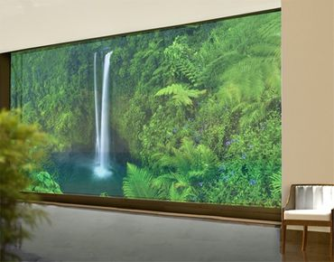 XXL Pellicola per vetri - Waterfall Paradise