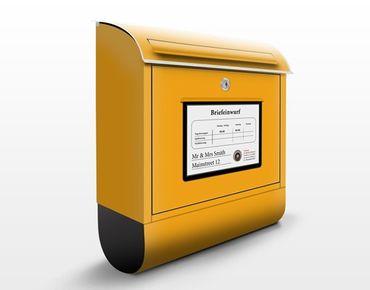 Cassetta postale personalizzata Mailbox 39x46x13cm
