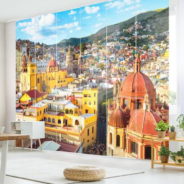 Tende scorrevoli set - Colourful Houses Guanajuato