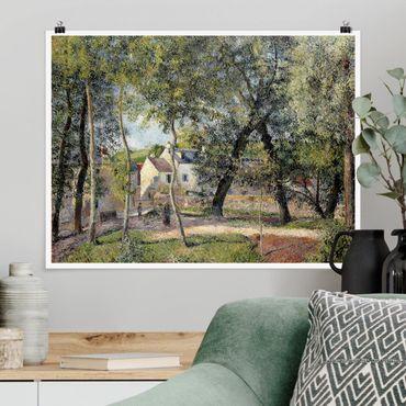 Poster - Camille Pissarro - Landscape in Osny - Orizzontale 3:4