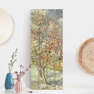 Stampa su legno - Vincent Van Gogh - Peach Blossom - Verticale 5:2
