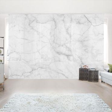 Tende scorrevoli set - Bianco Carrara
