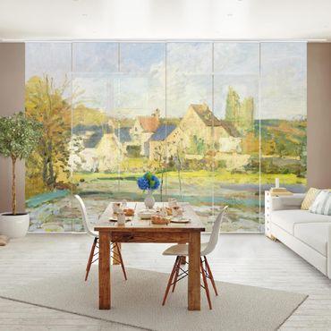 Tende scorrevoli set - Camille Pissarro - Landscape Near Pontoise