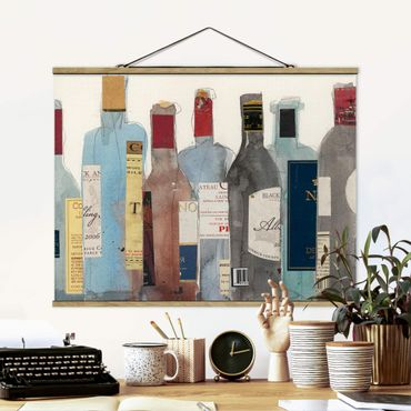 Foto su tessuto da parete con bastone - Wine & Spirits II - Orizzontale 3:4