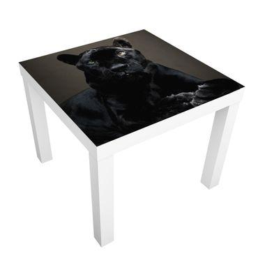 Carta adesiva per mobili IKEA - Lack Tavolino Black Puma